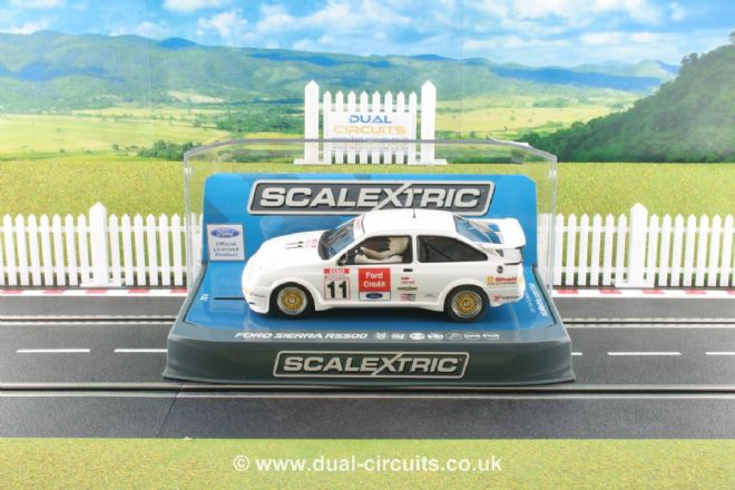 Scalextric C3781 Ford Sierra RS500 Rob Gravett #11